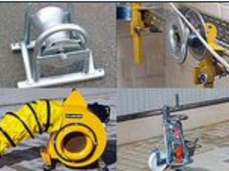 Oprema za polaganje kabela-terad