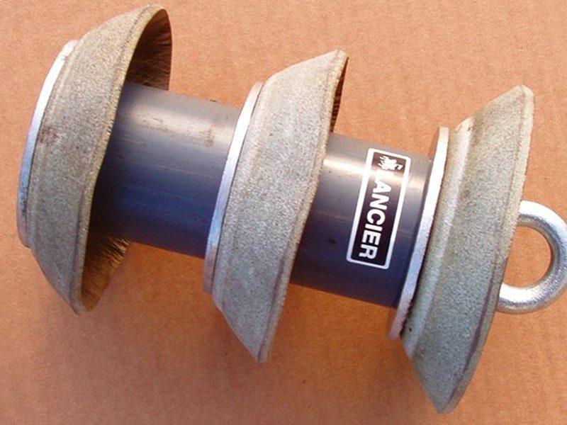 ; Oprema za upuhivanje užeta-terad