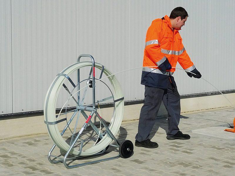 Trake za uvlačenje kabela-terad